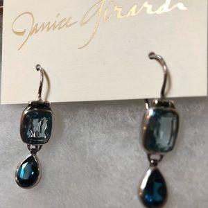 Janice Girardi Designs Jewelry - Blue Topaz Earrings By Janice Girardi Designs